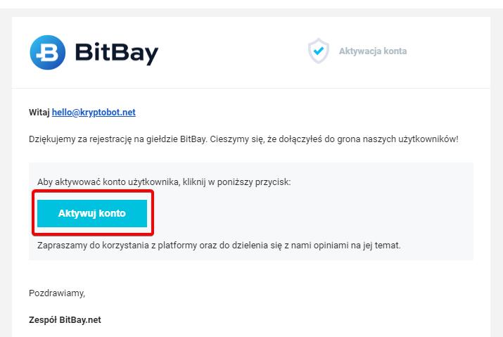 Wiadomości od BitBay mogą przychodzić z opóźnieniem