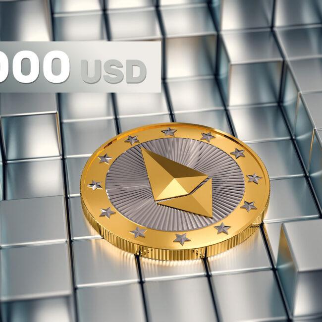 Ethereum przebiło poziom 3 000 USD